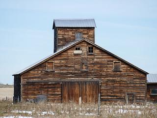 Another favourite Alberta barn
