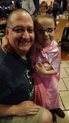 "Celebratory head shave for St. Baldrick's after surpassing the fundraising goal. • <a style=""font-size:0.8em;"" href=""http://www.flickr.com/photos/131449174@N04/37513698801/"" target=""_blank"">View on Flickr</a>"