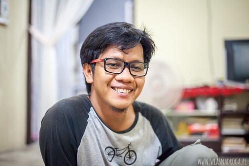 Hamdi, nasz pierwszy host w Indonezji