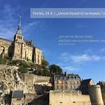 Pilgerfahrt zum Mont-Saint-Michel mit Jungen Erwachsenen