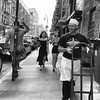 Ludlow (ShelSerkin) Tags: shotoniphone7 shotoniphone hipstamatic iphone iphoneography squareformat mobilephotography streetphotography candid portrait street gothamist nyc newyorkcity blackandwhite