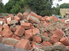REDUCED TO A PILE OF ROSE BROTHERS BRICKS IN OCT 2017 (richie 59) Tags: ulstercountyny ulstercounty newyorkstate newyork unitedstates sunday weekend autumn kingstonny kingston midtownkingstonny midtownkingston midtown nystate richie59 america outside fall school campus demolition kingstonhighschool highschool schoolbuildings schoolcampus highschoolcampus workzone highschoolbuildings 2017 worksite oct82017 oct2017 city smallcity urban buildings hudsonvalley midhudsonvalley midhudson nys ny usa us oldbuilding oldbrickbuilding brickbuilding redbrickbuilding obsolete oldschoolbuilding bricks trees dumpster