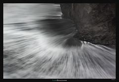Sea Fan (Ilan Shacham) Tags: abstract minimalism landscape seascape waves sea beach flow fan water fineart fineartphotography iceland dyrholaey black