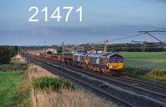 robfrance5d2_21471_130717_x66429_x66432_plumpton_penrith_6c18_drs_edr16lr6pse15weblowres (RF_1) Tags: 2017 66 66429 66432 ballast britain britian cables catenary class66 climbing cumbria diesel directrailservices drs electricpower electricrailway electromotive emd england freight generalmotors gm haulage hauling loco locomotive locomotives nds networkrail networkrailnationaldeliveryservice nucleardecommissioningauthority ohl ohls overheadline plumpton railfreight railroad railway railways train trains transport uk uniitedkingdom wcml westcoastmainline