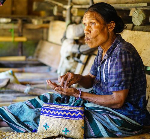 In Tarung village, just outside Waikabubak, Sumba, Indonesia