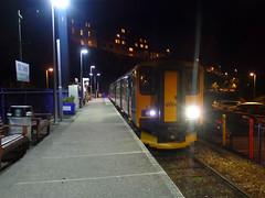150246 St Ives (Marky7890) Tags: night gwr 150246 class150 stives stivesbayline 2a49 railway sprinter cornwall train