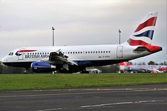 G-EUPL BRITISH AIRWAYS AIRBUS A319 NEWCASTLE (toowoomba surfer) Tags: airline airliner aviation aircraft jet aeroplane ncl egnt