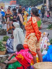 Mumbai 2015 (hunbille) Tags: birgittemumbai2lr india mumbai bombay dadar phool galli phoolgalli flower market bazaar