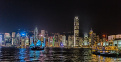 Boom Town - Hongkong 80/188 (*Capture the Moment*) Tags: 2017 architecture fotowalk hongkong nachtaufnahmen nightshot reflection reflexion sonya7m2 sonya7mii sonya7mark2 sonya7ii sonyfe2470mmf4zaoss sonyilce7m2 starferry starferrypier