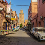 Marrakesh streets.