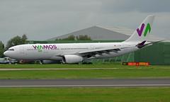EC-MNY 06/10/17 Manchester (EGCC) (Lowflyer1948) Tags: ecmny airbus a330243 061017 manchester wamosair