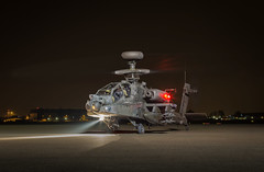 Nocturnal Apache (Nimbus20) Tags: helicopter army air corps aircraft rotorcraft uk british westland northolt london