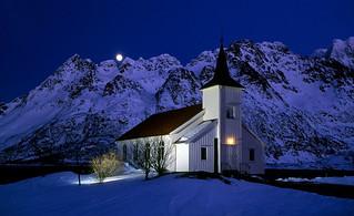 Vespollen church - Lofoten