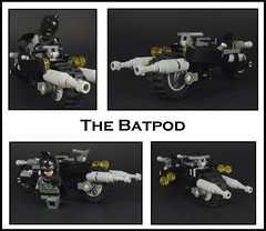 The Batpod (MrKjito) Tags: lego super hero comics comic batman batpod bruce wayne gotham city dc detective showcase moc