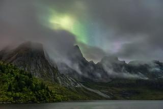 'A Window Through The Mountain Mists' - Storvatnet, Lofoten Islands