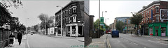 Mare Street`1968-2017 (roll the dice) Tags: london hackney east e8 old local history sad mad surreal streetfurniture architecture retro sixties bygone nostalgia comparison changes collection uk art classic england urban flats oldandnew pastandpresent hereandnow people hops beer ales hotelkonuralp religioussistersofcharity cambridgelodge hospice chapel beckroad vanished demolished traffic fashion canon tourism rough grim tourists victorian corner pram trees bus travel transport lost empty dirty fun