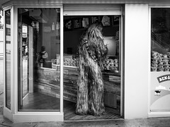 Chewbacca @ Ben & Jerry's