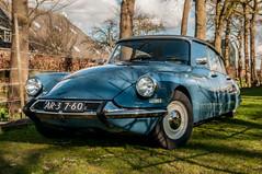 Blaue Haifisch (Roberto Braam) Tags: citroën french car voiture haifisch snoek ar3760 id19 id vehicle vehikel classic oldtimer strijkijzer goddess outdoor