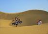 Desert Dancer (Bhaskar Dutta) Tags: desert dancer sand dune jaisalmer thar khuri rajasthan india man woman entertainment curve shadow explore