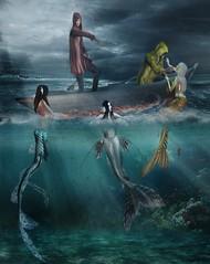 SailorsLost (blu.moonwall) Tags: mermaids secondlife underwater sea