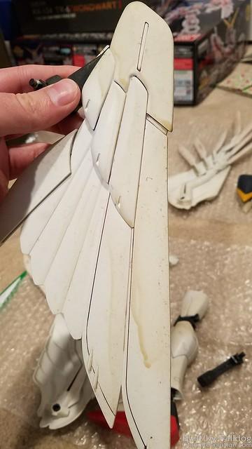 PG Wing Zero Custom Refurb - Part 1 by Judson Weinsheimer