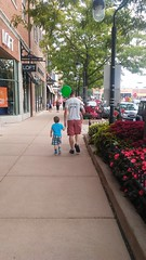 "Daddy Walks with Paul and Dani in Downtown Naperville • <a style=""font-size:0.8em;"" href=""http://www.flickr.com/photos/109120354@N07/37953326141/"" target=""_blank"">View on Flickr</a>"