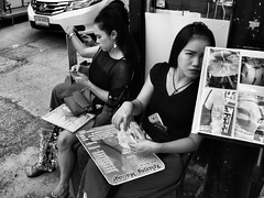 U can massage but u can't hide 👻 (-Faisal Aljunied - !!) Tags: hide massagegirls massageparlour thailand phuket streetphotography gr2 ricoh faisalaljunied