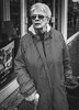 Maggie (raymorgan4) Tags: maggie married engaged 82 retired nurse funny oldlady walking stick canon m100 cardiff albany road joking happy conversation