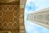 Mosque Hassan-II with minaret in Casablanca (thomassimon) Tags: morocco mosque hassanii casablanca