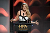 Actor Shailene Woodley speaks onstage during the 21st Annual Hollywood Film Awards at The Beverly Hilton Hotel on November 5, 2017 in Beverly Hills, California. (Photo by Kevin Winter/Getty Images)