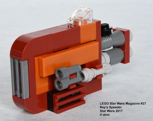 Lego Star Wars Magazine 27 Reys Speeder A Photo On Flickriver