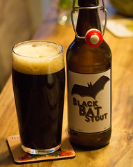 Black Bat Stout (tastentipper72) Tags: homebrew stout beer biercraftbeer craft