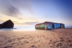 Blockhaus of capbreton (flo40140) Tags: 6d landes longexposure nd1000 haida nature mer sea plage french france landscape paysage 1740 ocean capbreton canon