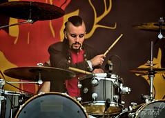 0.000.005 (Konzertfotografie ...) Tags: musiker drum schlagzeug stage konzert festival wff rock deathmetal avatar