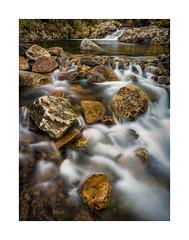 Red-a-Ven Brook, Dartmoor, Devon, UK (SimonHMiles) Tags: dartmoor brook river stream water flow rocks longexposure