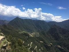 Machu Picchu from the Inca Road to the Sun Gate