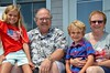 The Kids And Their Grandparents At The Cottage (Joe Shlabotnik) Tags: verne july2017 violet higginsbeach 2017 maine everett nancy afsdxvrzoomnikkor18105mmf3556ged