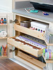 Concealed Wrapping Station (Heath & the B.L.T. boys) Tags: organize drawers crafts