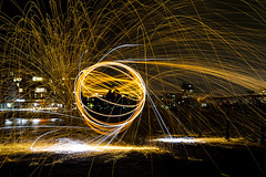 171028 2188 (steeljam) Tags: steeljam nikon d800 lightpainters greenwich wirewool spinning halloween
