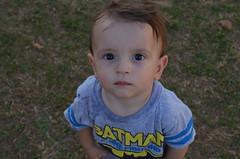 Bebê Desconfiado (yuriisimoes) Tags: bebê fofo desconfiado batman