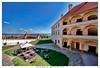 ptuj il castello slovenia (Giorgio Serodine) Tags: ptuj citta castello pietra muro arcate prato tetti muraglia cemento grandangolo canon finestre cielo allaperto tavoloi sedie