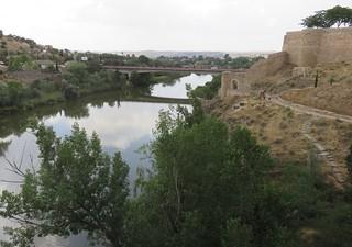 Tagus River (Toledo, Spain)