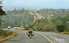 Motorcycle goods transportation (José M. F. Almeida) Tags: quenia kenya africa street photography perfectworldphotography perfect world people pessoas travel masai mara motorcycle goods transportation