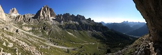 Early in the morning above Val di Fassa