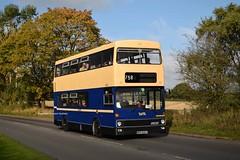 6835 Wythall 08/10/17 (MCW1987) Tags: preserved wythall bammot west midlands wmpte mcw metrobus wda835t mk1 6835