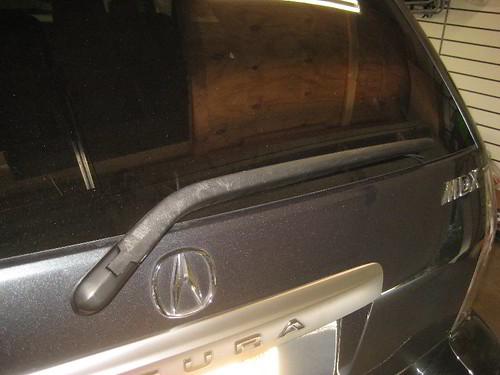 2001 2006 acura mdx rear window wiper blade rubber insert rh flickriver com Honda Acura MDX 2002 Honda Acura MDX 2003