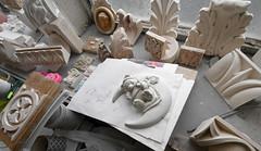 Sculpting and pattern making, Darwen Terracotta and Faience (robmcrorie) Tags: darwenteddybearmoon drawn terracotta faience blackburn lancashire england ceramic sculpture architectural slip casting mould plaster hand made victorian restoration nikon d7500