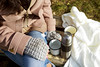 a girl with a thermos in her hand (lyule4ik) Tags: autumn girl nature woman thermos bench plaid relax outdoor drink tea hand park water beautiful brownhair coffee cold cute fall foliage hold jeans knit picnic portrait seasonal shoe shore sit sweater warming whiteskin active background casual closeup cup female forest grass harmony holding jacket