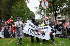 World Zombie Day London 2017 (The Weekly Bull) Tags: camdentown fundraising georgeromero london stmungos stpancras uk worldzombieday zombie zombies brains charity fundraiser homelessness livingdead undead