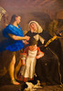 Saint Margaret of Cortona (Thomas Hawk) Tags: gasparetraversi manhattan met metropolitan metropolitanmuseum museum nyc newyork saintmargaretofcortona themetropolitanmuseumofart usa unitedstates unitedstatesofamerica painting fav10